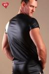 Tee Shirt faux cuir