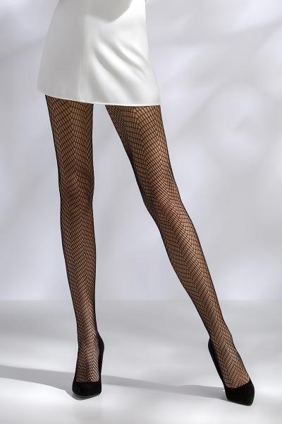 Collants résille TI017 - noir