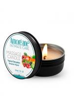 Bougie de massage fruits exotiques - Amoreane