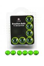 6 Brazillian balls effet vibrator
