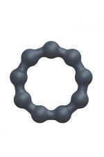 Anneau de pénis Maximize Ring - Dorcel : Cockring 100% silicone avec des petites boules, pour accroitre les performances masculines et le plaisir des 2 partenaires.