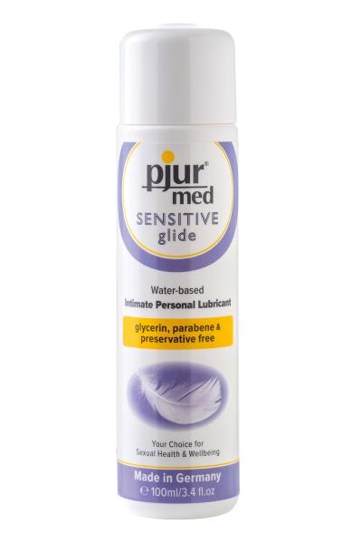 Lubrifiant Pjur Med Sensitive glide 100ml