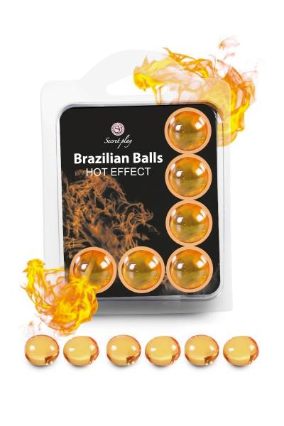 6 Brazilian Balls - effet chaleur