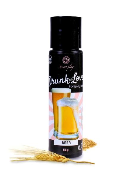 Lubrifiant arôme bière - 60 ml