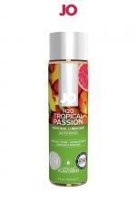 Lubrifiant aromatisé fruits exotiques 120 ml - Lubrifiant aromatisé comestible parfum fruits exotiques au format 120 ml de la marque Américaine System Jo.
