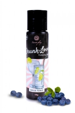 Lubrifiant arôme gin tonic - 60 ml