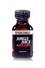 Poppers jungle juice black label 24ml : Le poppers Jungle Juice black original dans une nouvelle formule extrême, extra forte, à base de nitrite d'amyle.